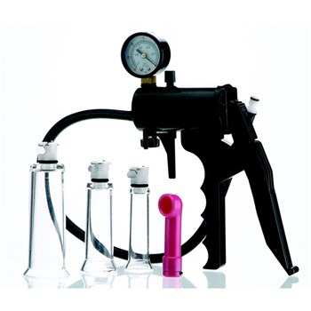 clitoral enhancement pump system