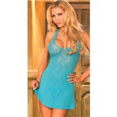 sweet lace halter chemise