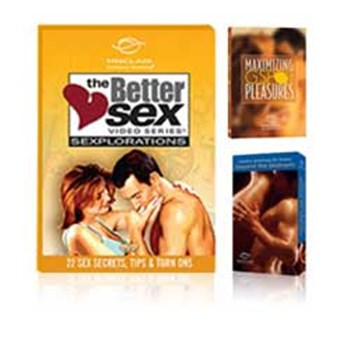 exploring better sex video series 3 dvd set