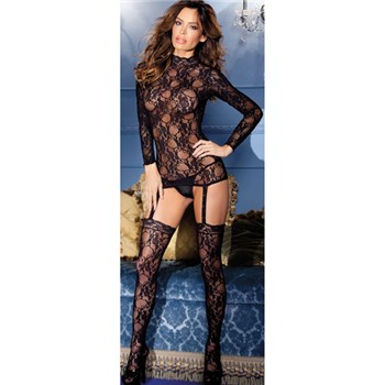 lady of the night bodystocking