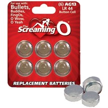 "The Screaming O Batteries ""LR44/AG13"" 6 Pack at BetterSex.com"