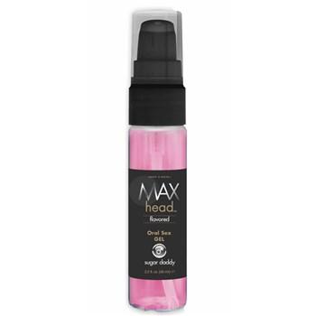 max head flavored oral sex gel