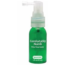 Comfortably Numb Deep Throat Spray at BetterSex.com