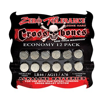 "ZT Evolved Batteries ""LR44/AG13/A76"" 12 Pack at BetterSex.com"