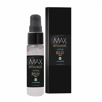max 4 mens arousal sex gel