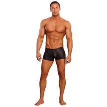 black cobra mini shorts