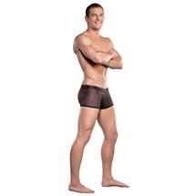 Herringbone Mini Pouch Shorts at BetterSex.com