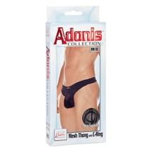 adonis mesh thong with c ring