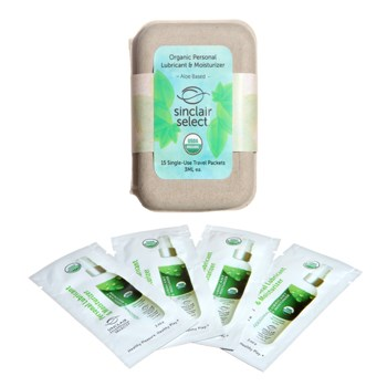 organic lubricant 15 single use pack