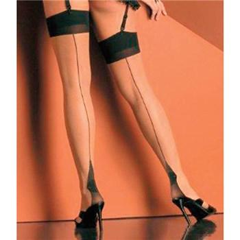 cuban heel sheer thigh hi