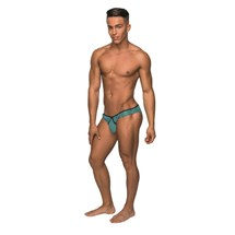 Male in bikini underwear