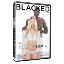Blonde female in lingerie with male