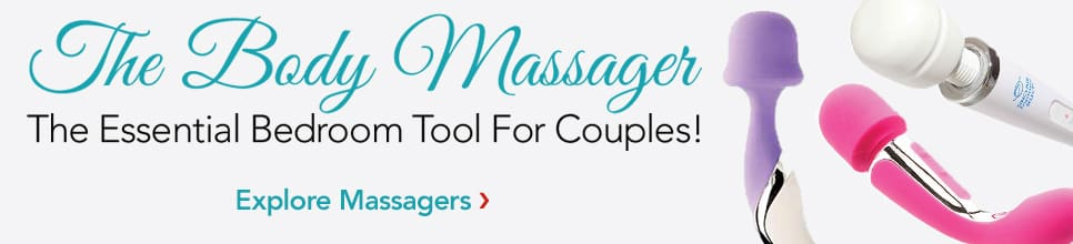 The body massager. The essential bedroom tool for couples! Shop now.