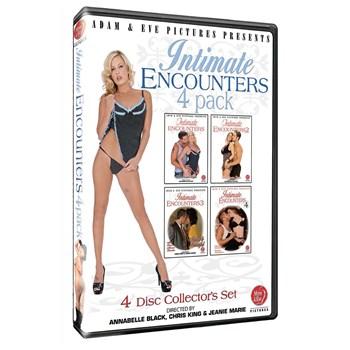 Blonde female in lingerie Encounters 4 pack