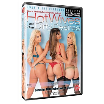 Three females in lingerie backside view Hotwives Dirty Desires