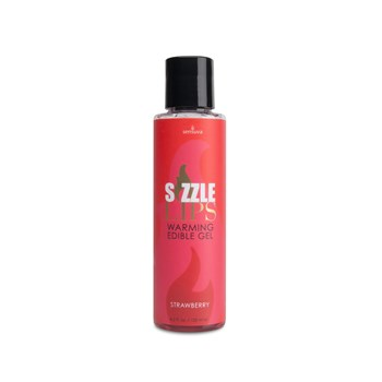 Sizzle Lips Edible Warming Gel