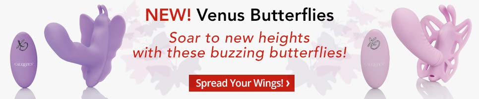 New! Venus Butterflies. Soar to new heights with these buzzing butterflies! Shop now