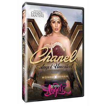 TS female dressed as Super Hero Chanel Angel Unveiled