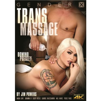 Blonde TS female topless Trans Massage
