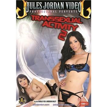 TS female wearing lingerie TS activity