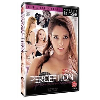 Three brunette females  wearing lingerie Perception