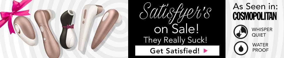 Satisfyer Vibrators on sale! Shop now.