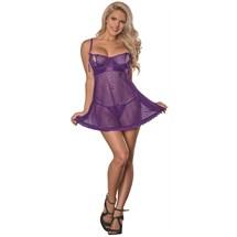 Unwrap Me Babydoll worn by female model