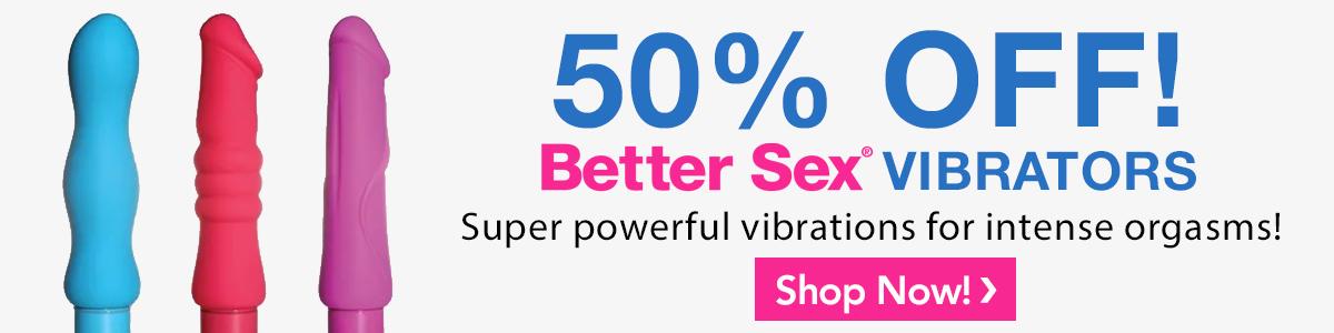 50% off Vibrators
