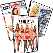 3 features the five love squirts 2 debbie duz dishes