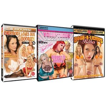 big boobies bundle 3 dvd pack